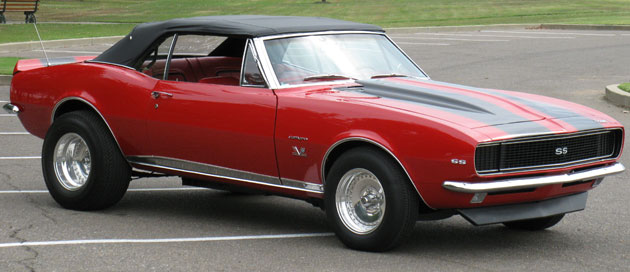 1967 Camaro Convertible Rs Ss Tribute