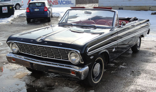 51792 on 1963 ford falcon sprint convertible parts