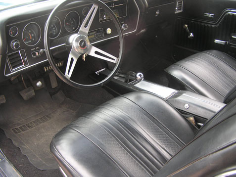 how to tell 1970 chevelle seats apart