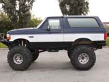 1995 Ford Bronco Monster Truck XLT