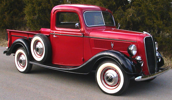 1937 Ford part pick up