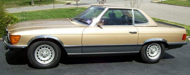1984 Mercedes Roadster 500SL/107