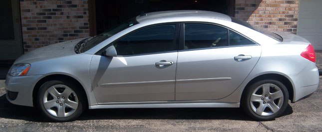 2009 Pontiac G6 4Dr Sedan