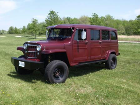 1953 Willys Stretched Wagon