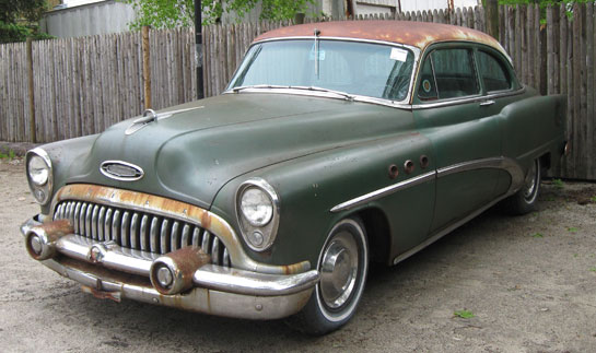 1953 Buick Special 8 2Dr