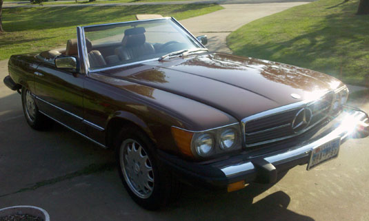 1982 Mercedes 380SL Convertible