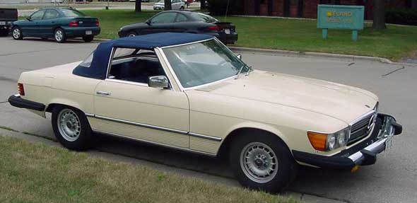 1978 Mercedes 450 SL Convertible