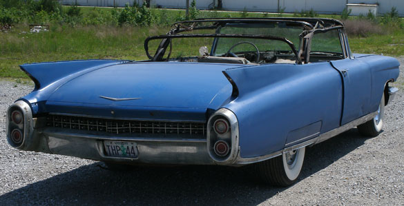 for cadillac header sale series convertible