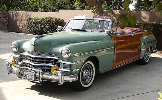 Chrysler Town Country Woodie Convertible