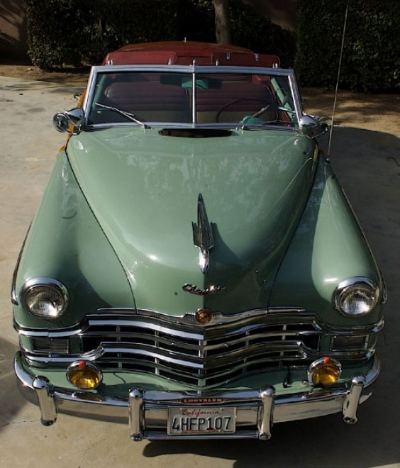 1949 Chrysler Town & Country Woodie Convertible