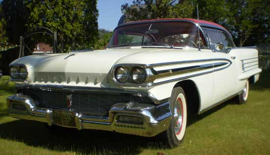 1958 Olds Super 88  2 door HT