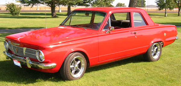 1965 Plymouth 2Dr Post Valiant
