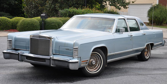 1979 lincoln continental town car. Black Bedroom Furniture Sets. Home Design Ideas