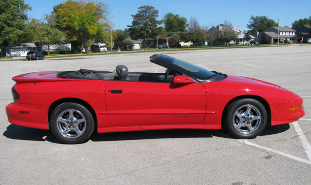 1997 pontiac firebird formula convertible. Black Bedroom Furniture Sets. Home Design Ideas