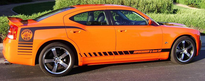 2009 Dodge Charger   Super Bee SRT-8