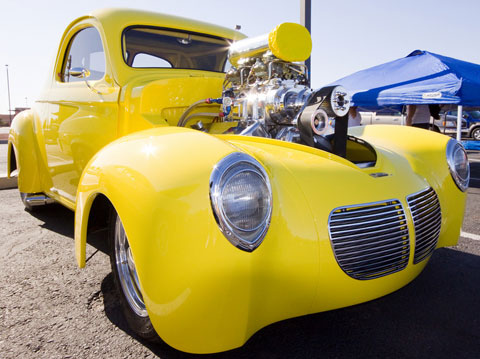 1940 Willys Coupe Blown Pro Street