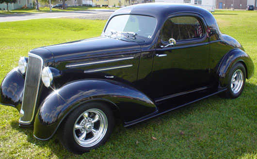 35 Chevy Master Coupe - save our oceans