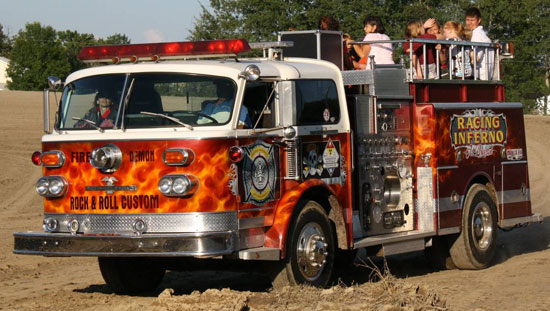 1986 GMC Jet Powered Fire Truck