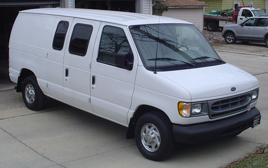 2000 ford e150 cargo van. Black Bedroom Furniture Sets. Home Design Ideas