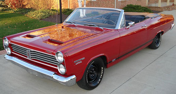 1967 Mercury Comet Cyclone Gt Convertible