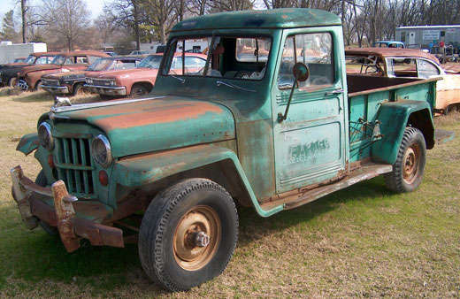 1957 Willys Jeep Pickup