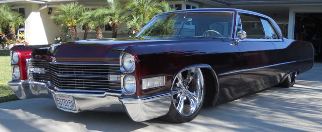 1966 Cadillac Coupe Deville Lowrider Pictures to Pin on Pinterest