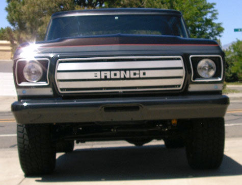 1978 Ford Bronco Custom Concept