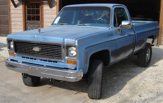1973 Chevy Truck >> Chevy 3 4 Ton Pickup