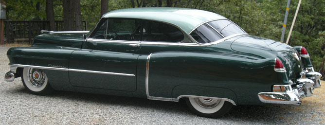 1950 Cadillac Series 61 Coupe Deville
