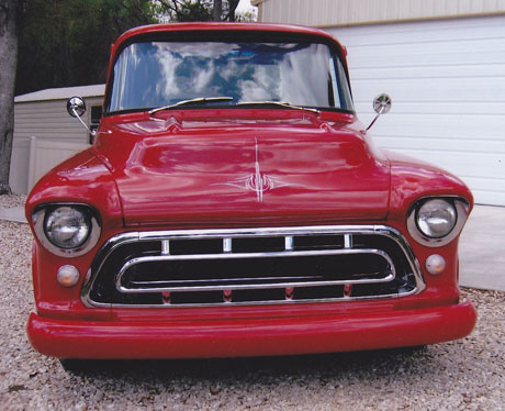 Pictures 1956 chevrolet stepside pick up truck for sale by owner
