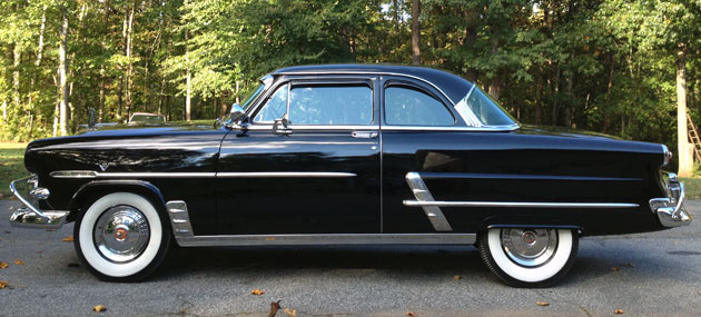 1953 Ford Customline Club Coupe