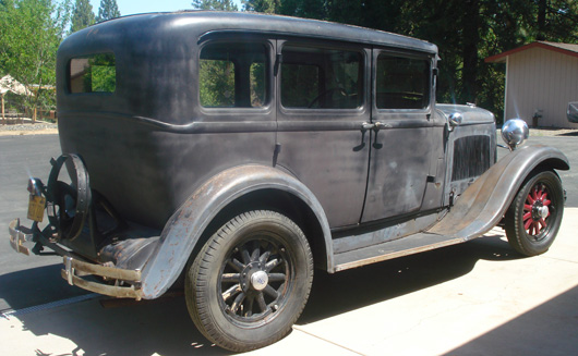 1929 dodge brothers 4 door for 1929 dodge 4 door