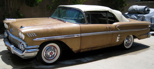 1958 chevrolet impala for sale by owner autos post. Black Bedroom Furniture Sets. Home Design Ideas
