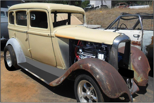 1933 dodge sedan for 1933 dodge 4 door