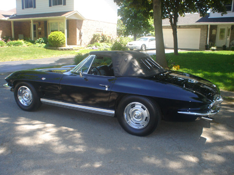 Corvette Stingray Convertible on 1964 Corvette Stingray Convertible