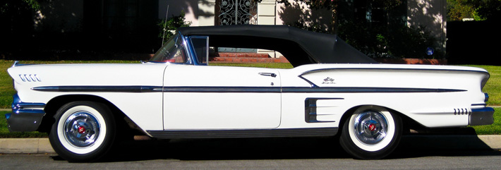 1958 Chevy Impala Convertible