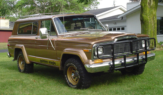 1979 Jeep Cherokee Golden Eagle http://www.cars-on-line.com/61662.html