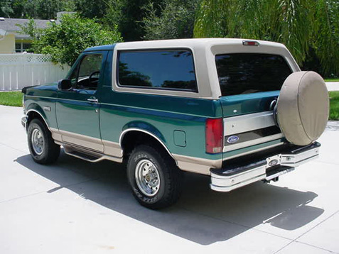 Ford on 1996 Bronco Engine Pictures