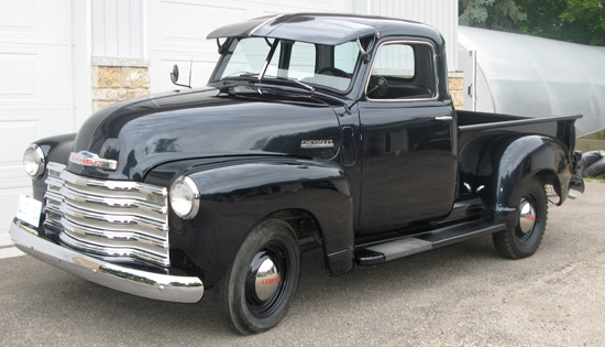 1949 Chevy 1/2 Ton Custom Cab