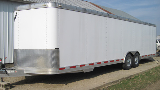 2006 Featherlite  28' Enclosed Trailer