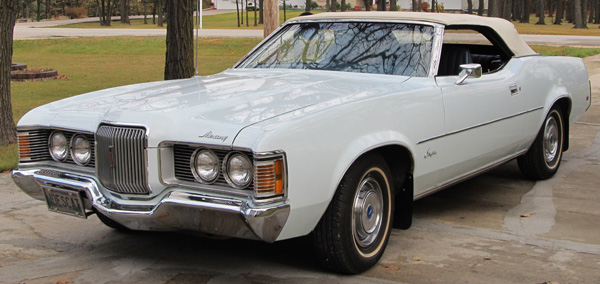 Classic Car Loans >> 1971 Mercury Cougar Convertible