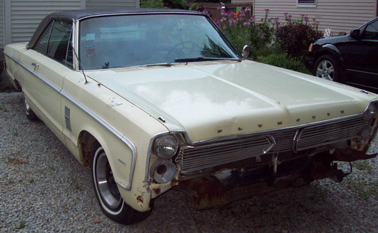 1966 Plymouth Fury Commando