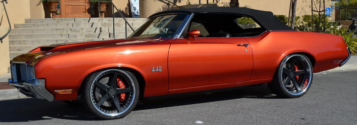 1972 Olds 442 Pro Touring Convertible