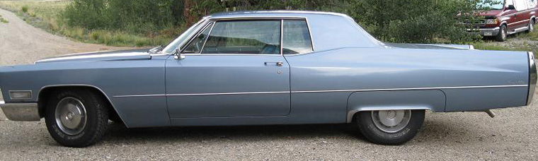 1967 Cadillac Coupe DeVille Hardtop