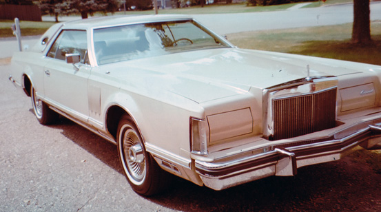 1979 Lincoln Mark V Cartier Edition