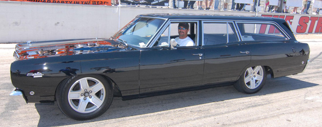 1968 Plymouth Satellite Sport Wagon