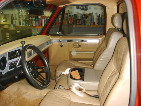 1982 chevy silverado interior