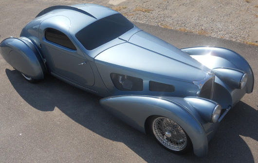 1937 Bugatti Atlantic Replica