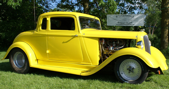1933 Plymouth Pro Street Coupe