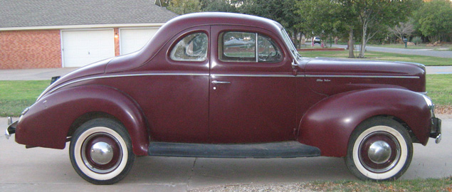 1940 ford deluxe business coupe for 1940 ford deluxe two door business coupe